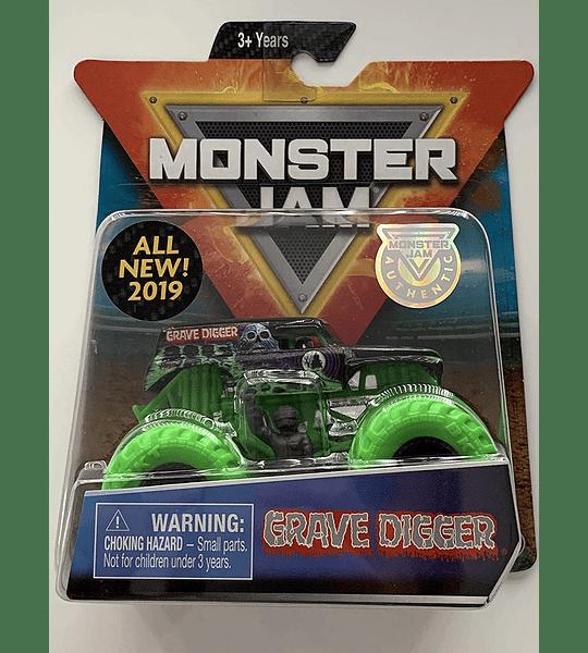Monster Jam Stinger Unleashed con 1 figura Escala 1:64