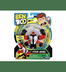 Ben 10 - Cuatro brazos Figuras de acción