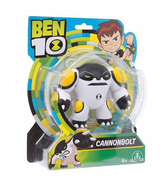 Ben 10 - Canonbolt Figura de acción