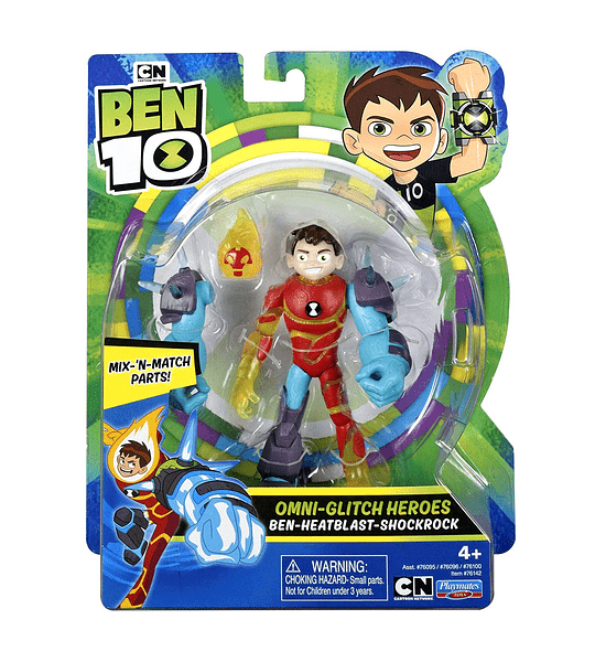Ben 10 -Heatblast-Shock Rock