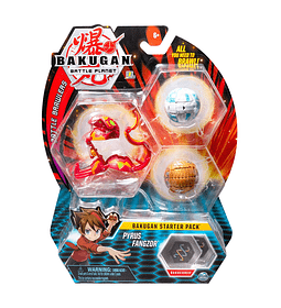 Bakugan Pyrus Fangzor Starter pack