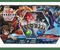Bakugan, Battle Bundle con 4 Bakugan y Exclusive Mat Mat, Walmart Exclusive