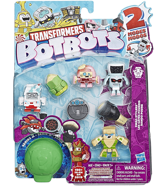 Botbots Transformers Pack de 8