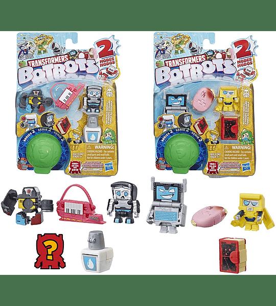 Botbots Transformers turma da Mochila Pack de 5