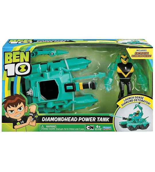 Ben 10 - DIAMONDHEAD POWER TANK