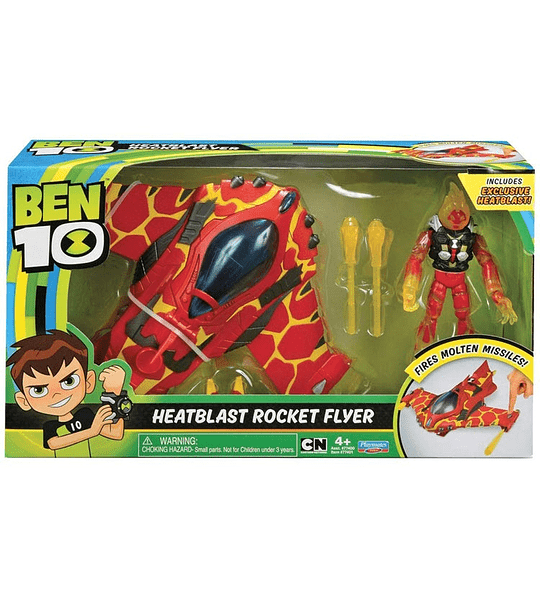 Ben 10 - HEATBLAST ROCKET FLYER