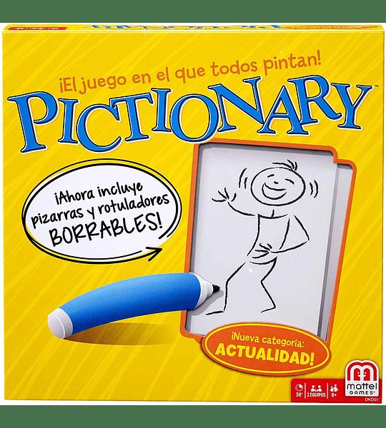 Pictionary, Juegos de Mesa (Mattel)