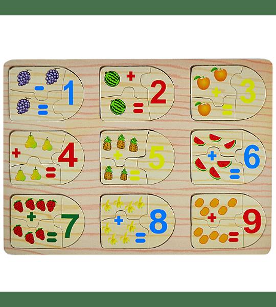 Rompecabeza Puzzle Número