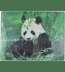 Rompecabezas de Madera Panda
