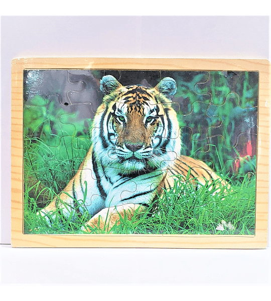 Rompecabeza de madera Tigre