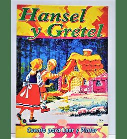 Cuento para Pintar Hansel y Gretel
