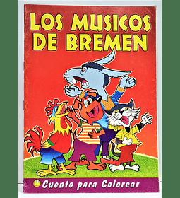 Cuento para Pintar Los Músicos de Bremen