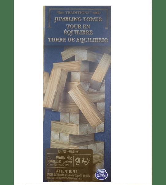 Jenga, Torre De Equilibrio, Tradicional, Spin Master