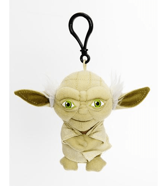 Yoda llavero peluche 11 cm con sonido Star Wars
