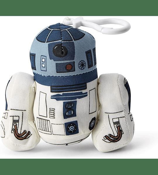 R2-D2 Llavero de peluche 11 cm con sonido Star Wars