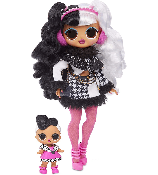 Dollie y Dollface Lol Surprise O.M.G Winter Disco