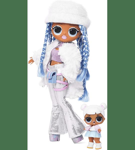 Snowlicious y Snow Angel Lol Surprise O.M.G Winter Disco