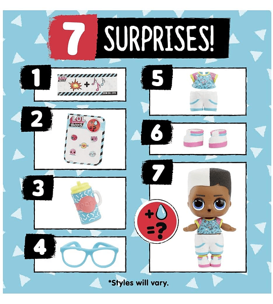 Boys L.o.l 7 Surprise