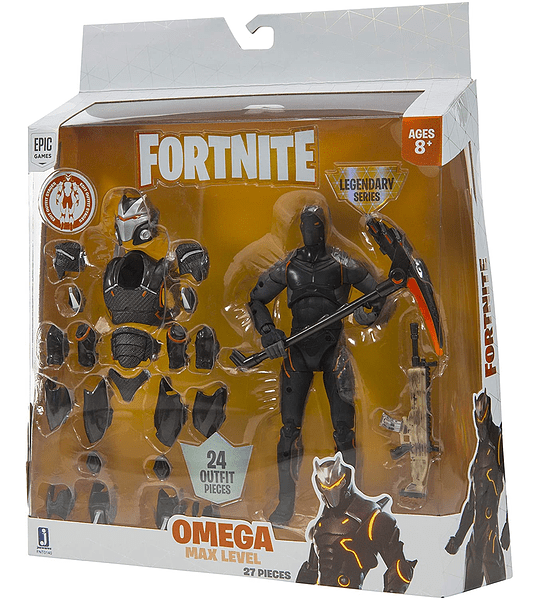 Omega Max Level Legendario Naranjo Fortnite