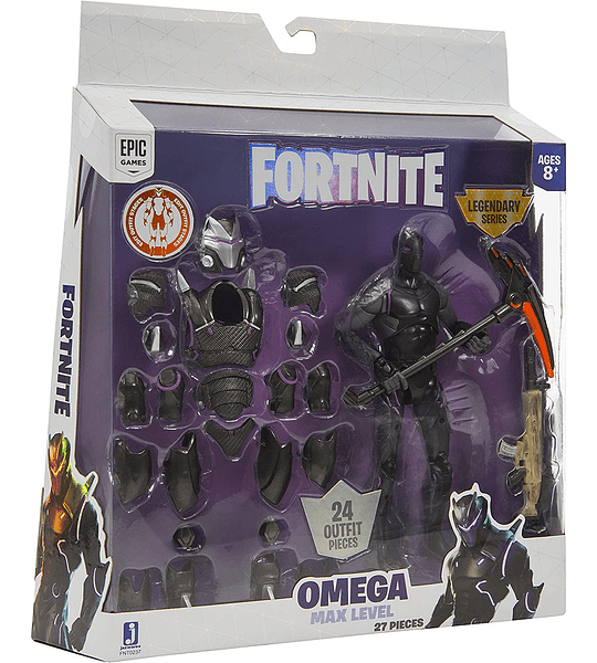 Omega Max Level Legendario Morado Fortnite