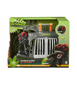 Fingerlings T- Rex Code Red Plus Cage