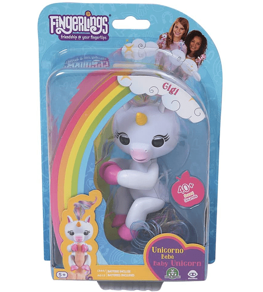 Fingerlings Gigí Unicornio