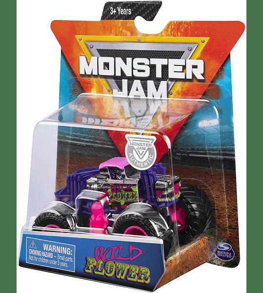 Monster Jam Wild Flower Escala 1:64