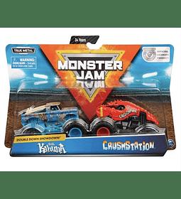 Monster Jam, Big Kahuna Vs. Crushstation Camiones escala 1:64