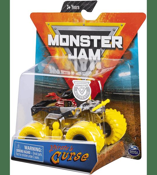 Monster Jam Pirate´s Curse escala 1:64