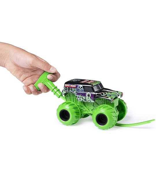 Monster Jam Grave Digger-Escala 1:43