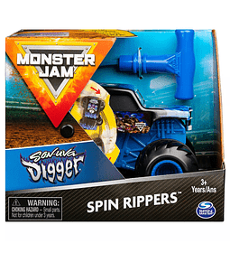 Monster Jam Spin Rippers Son-uva Digger 1:43 escala Monster Truck