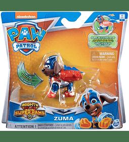 Paw Patrol Zuma Mighty Pups Super Paws