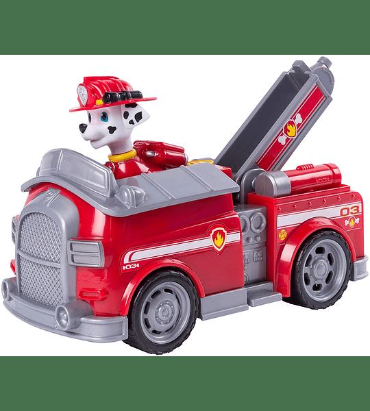 Paw Patrol Marshall Camión de Bomberos Transformador