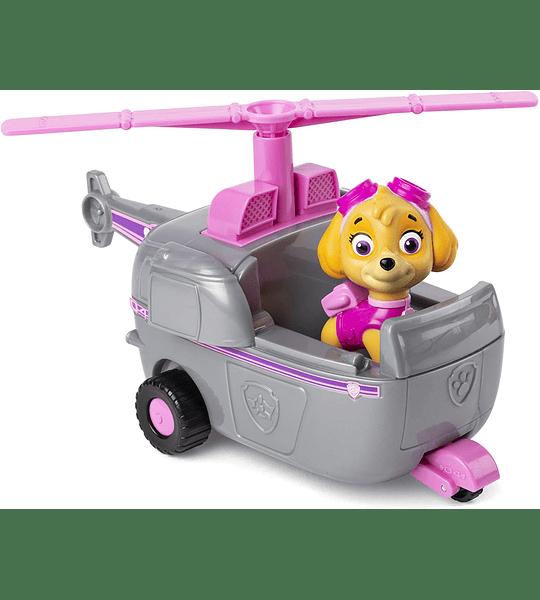 Skye con Helicóptero Transformador Paw Patrol