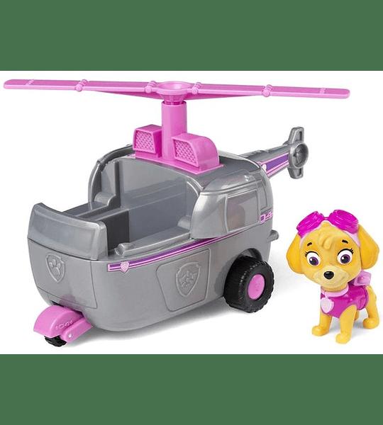 Paw Patrol Skye con Helicóptero Transformador