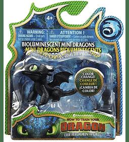 Dragons Toothless minifiguras Cambian de Color con el agua