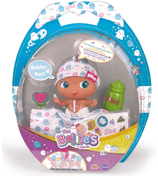Bobby-Boo, muñeco Interactivo The Bellies Famosa