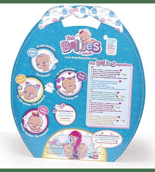 Bobby-Boo, muñeco Interactivo The Bellies Famosa