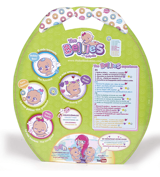 The Bellies Yumi-Yummy, muñeco Interactivo Famosa