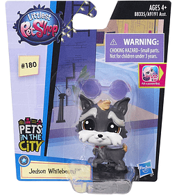 Littlest Pet Shop 180 Jedson Whitebeard