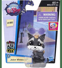 Littlest Pet Shop 180 Jedson Whitebeard
