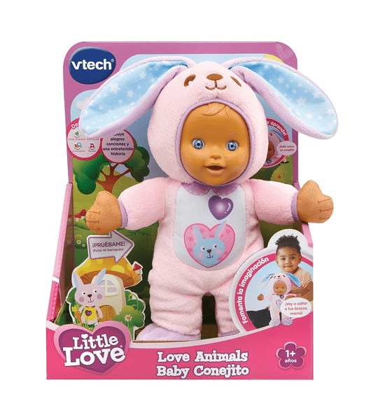 Baby Conejita love animals Vtech