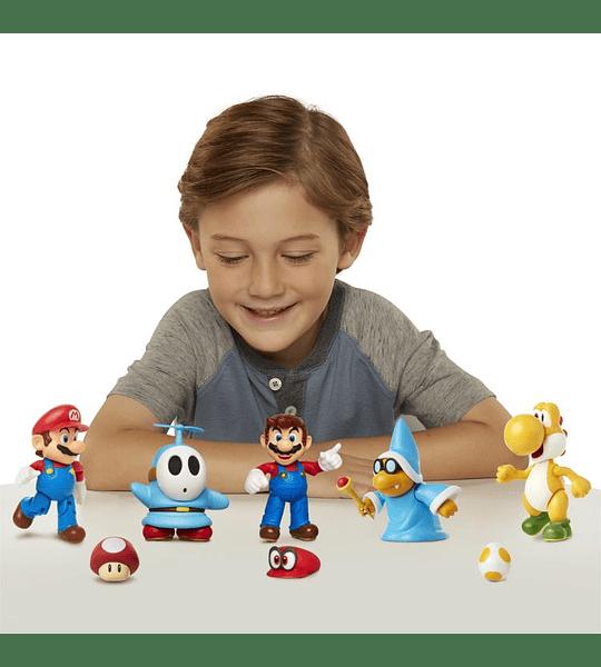 Super Mario con Super Champiñon Nintendo