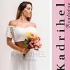 Conjunto de falda y Crop Top Suelto Ideal para Boda Civil Tallas Plus Kadrihel