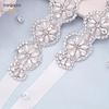Bellos Cinturones Brillante Ideal Para Boda Matrimonio Gala largo de aplique 36 cm largo de cinto 2 metros Kadrihel