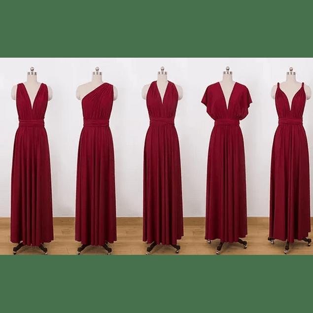 Vestidos Dama de Honor Largo Multiformas Talla Plus Kadrihel