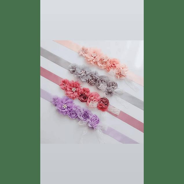 Accesorios Bellos Cinturones de Flores Ideal para Embarazadas Kadrihel