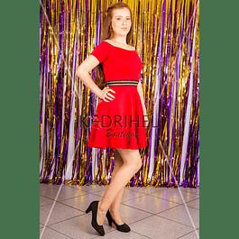 Vestido Corto Casual Semiformal Talla Plus Kadrihel