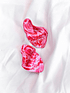 Aros Ondulados Marmolados Rojo