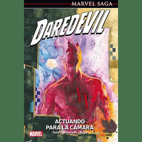 Marvel Saga N° 4 Daredevil Actuando Para La Camara